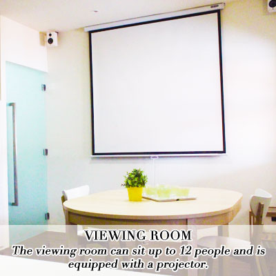 viewing room